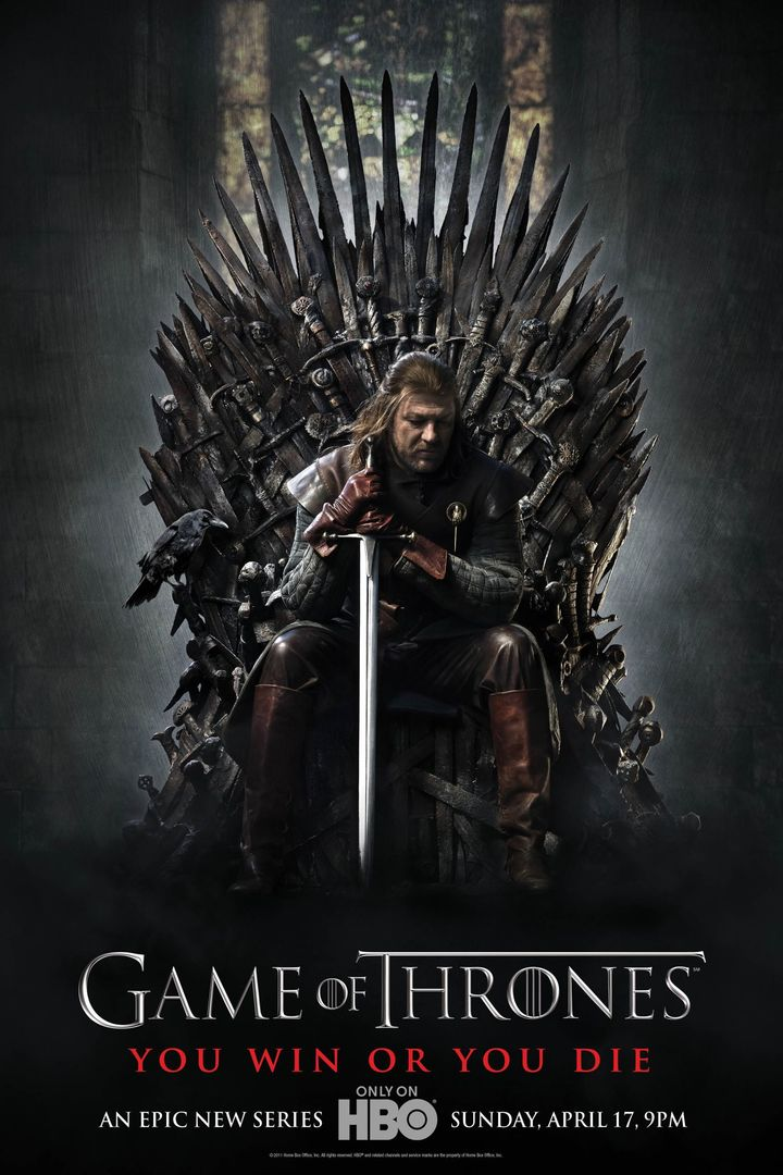Affiche de game of thrones
