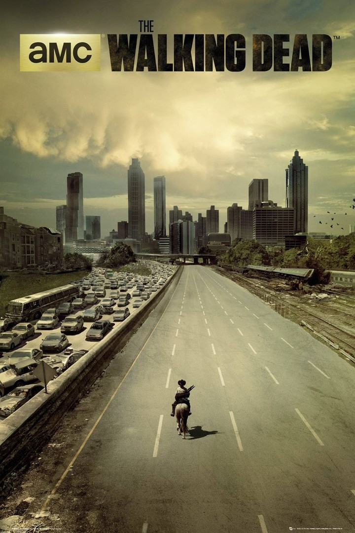 Affiche de The walking dead